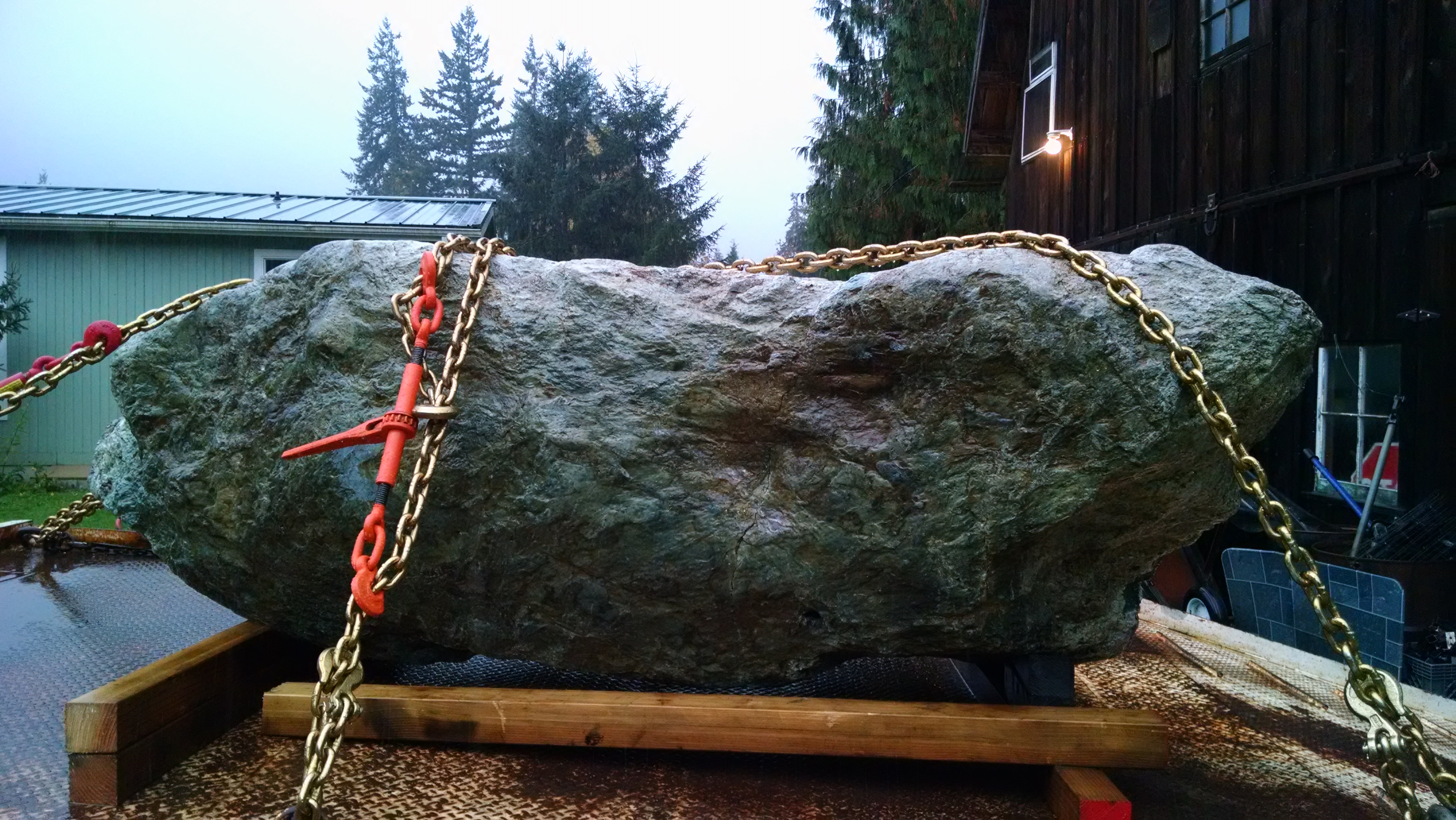 Amazing 16,000lb's Jade Boulder Found by Miners in USA